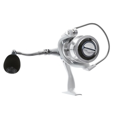 Automatic 3 + 1BB Spinning Fishing Reel with Exchangeable Handle
