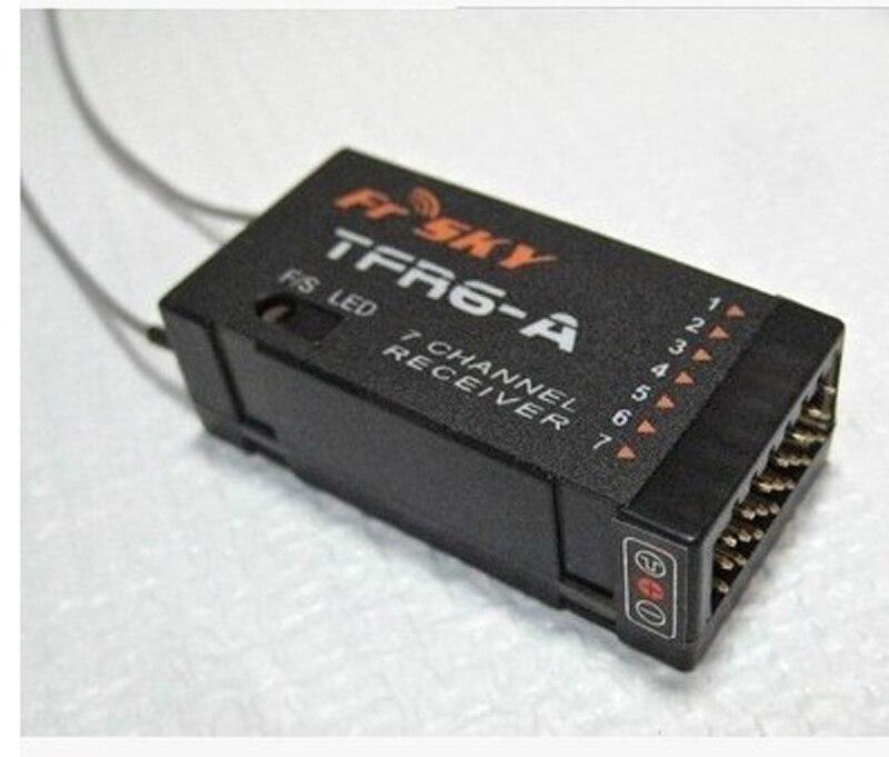 FrSky TFR6 TFR6A 7CH récepteur pour FrSky TF FUTABA FASST 2.4G télécommande émetteur RC T8FG 10CG 14SG 16sz FPV Drone RC