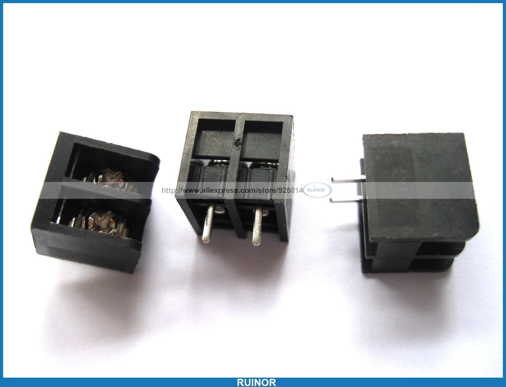 250 Pcs Black 2 Pin 8 25mm Screw Terminal Block Connector Barrier Type DC39B 50pcs hss twist drill bit set titanium coated high speed steel drill bit set woodworking wood tool 1 1 5 2 2 5 3mm power tools