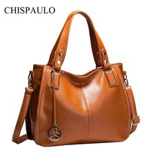 Famous Brands Designer Handbags High Quality Genuine Leather Women Handbags Casual Tassel Crossbody Bags For Women Messenger X21(China)