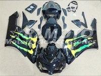 ACE KITS New ABS Injection Fairings Kit Fit For HONDA CBR1000RR 2004 2005 CBR1000RR 04 05 Black F78