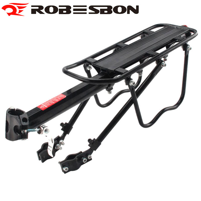 ROBESBON Mountain Bike Rack Bicycle Luggage Racks Cycling Accessories Aluminum Disc Brake Cargo Racks mountain bike four perlin disc hubs 32 holes high quality lightweight flexible rotation bicycle hubs bzh002
