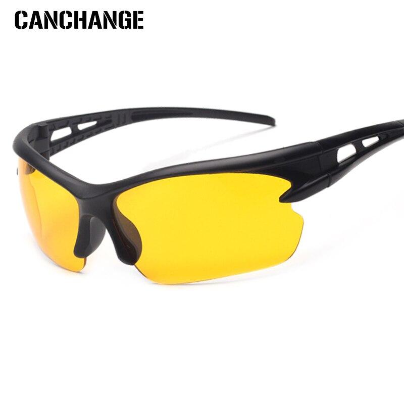 Canchange Heißer Verkauf Fahren Nachtsicht Ski Brille Männer Gelb Objektiv Nacht Sonnenbrille Frauen Anti-glare Brillen Goggles Unisex Online Rabatt