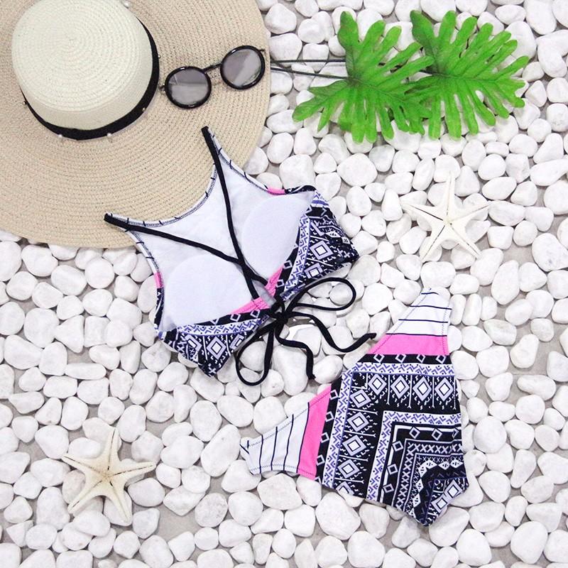 NAKIAEOI-Sexy-High-Neck-Bikini-Women-Swimwear-Halter-Swimsuit-2017-Newest-Brazilian-Bikini-Set-Bandage-Print (1)