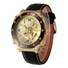 2016 Fashion Retro Vintage Stainless Steel Mechanical Watch For Man Gold Mechanical Wrist Watches Clock SHIWEIBAO3479