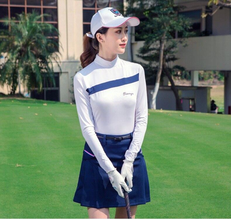 inverno gola bem aderentes Golfe Quentes Sportwear
