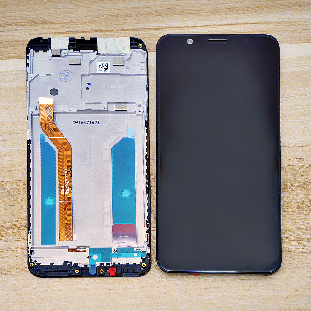 Original 5.99'' For ASUS Zenfone Max Pro ZB601Kl (M1) <font><b>ZB602KL</b></font> <font><b>LCD</b></font> Touch Screen Digitizer Assembly For ASUS ZB601Kl <font><b>LCD</b></font> Display image