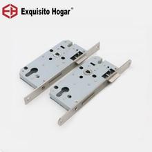 Двери Lockcase замок для тихих перемещений, Давление ручка с замком замок для межкомнатной двери 72 Lockbody двойной оборудования удлинитель