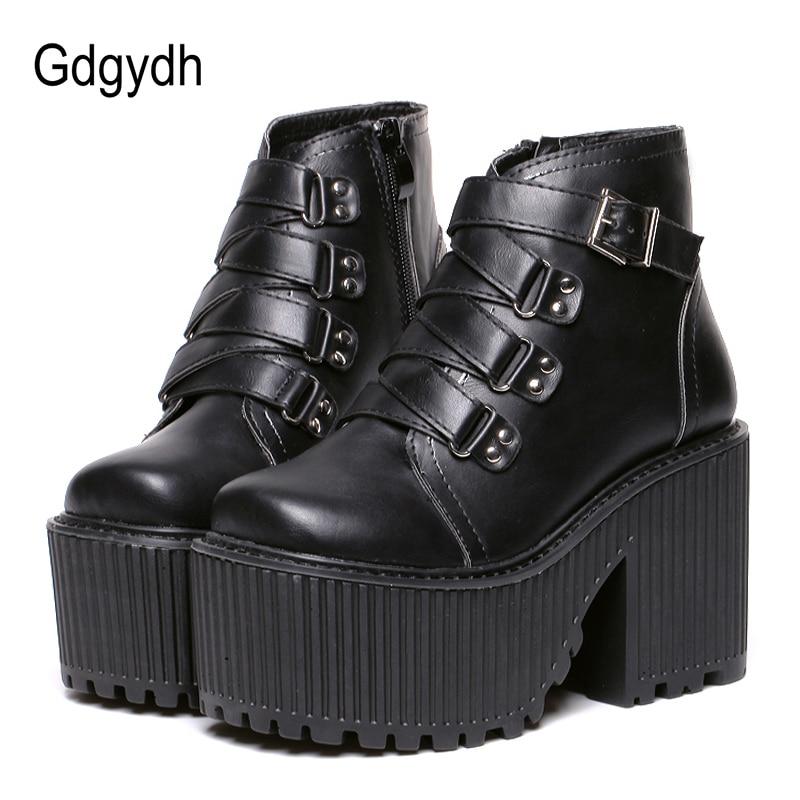 Ankle Boots Punk Shoes