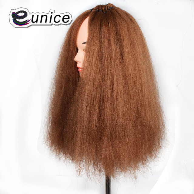Eunice Pre Loop Crochet Hair 1pc Dominican Blow Yaki Straight Hair