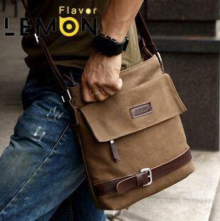 2017 Brand Casual Canvas School Men Messenger Bags Fashion Men's Crossbody Travel Bags Leisure Men Canvas Bag MB88