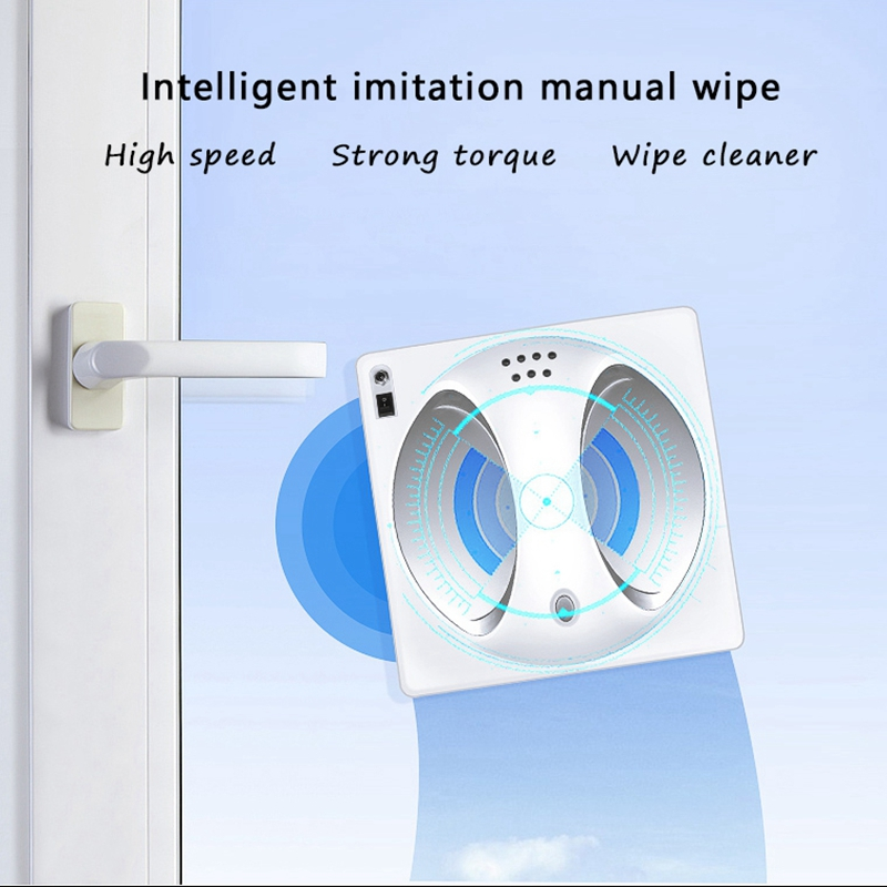 Remote Control Magnetic Window Glass Cleaner Robot Intelligent Automatic Window Cleaning Robot цена