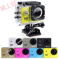 100 Original MLLSE Waterproof 1080P Sport Action Camera Camera Of Gopro Style Go Pro Camera 30M