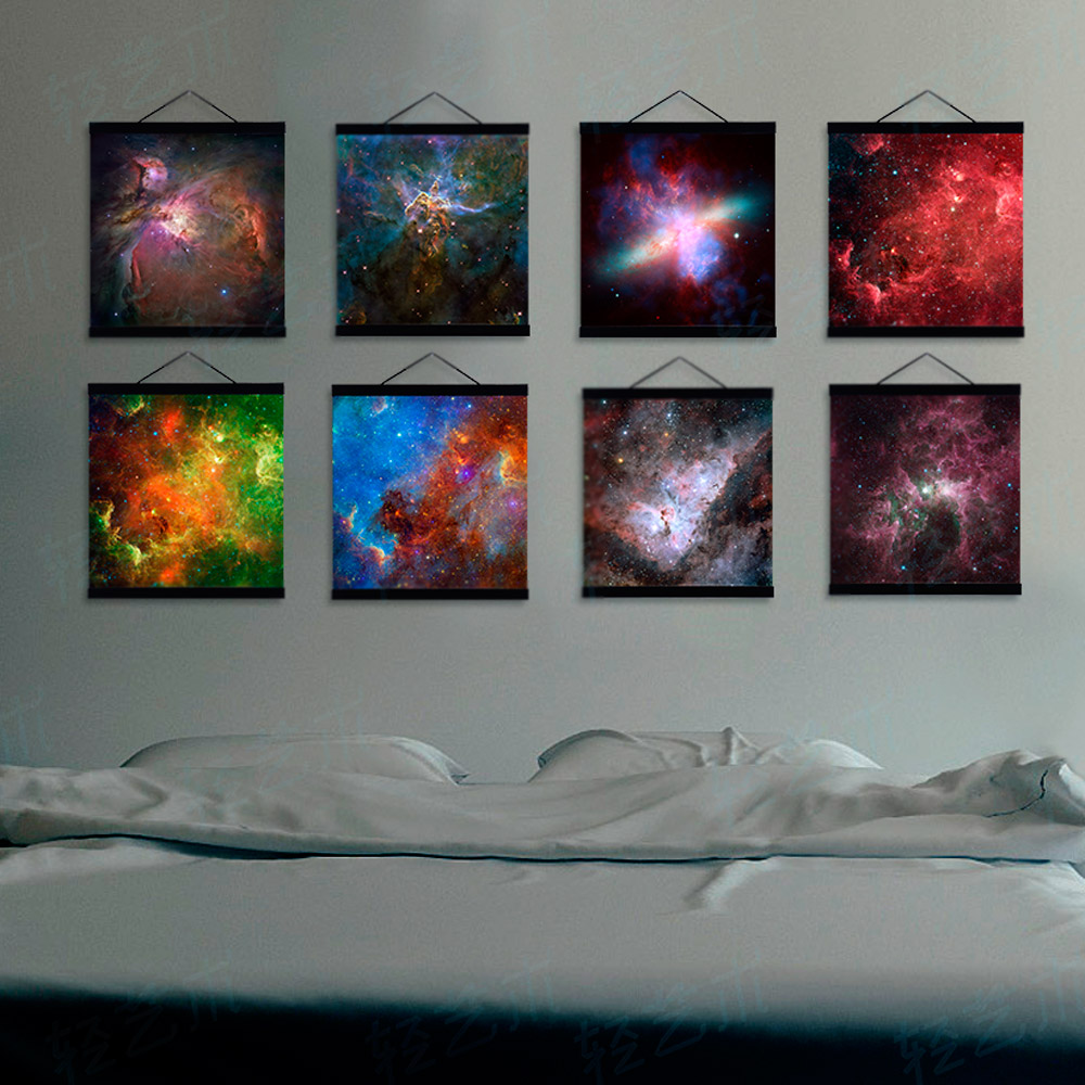 modern space hubble universe galaxy photo a4 large art prints poster abstract wall pictures canvas painting no framed home decor