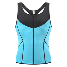 sexy sports sweat vest trainer body shaper clothing tshirt men waist tummy tuck