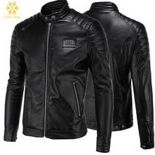 Calipso Ogygia Brand New Metal Sequined Mens Warm Air Force Pilot Motorcycle Coat Faux Fur+leather Jacket Trench Plus 5XL