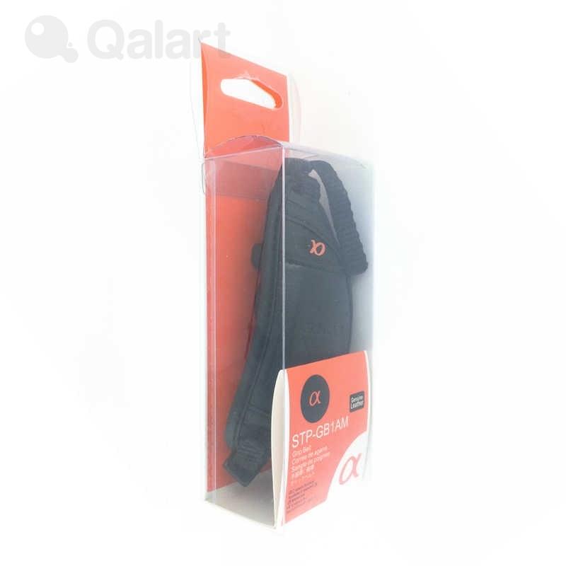 Black Sony STP-GB1AM Leather Hand Strap