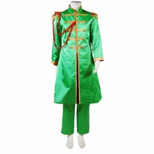 Custom Made In early the 1970s Youth Suit Green Uniform Costume for The Beatles Halloween Cosplay