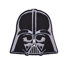 1Pcs Star Wars Black Valentine Day The Force Awakens Patch Movie TV Series Cosplay Costume Embroidered Emblem iron on patch