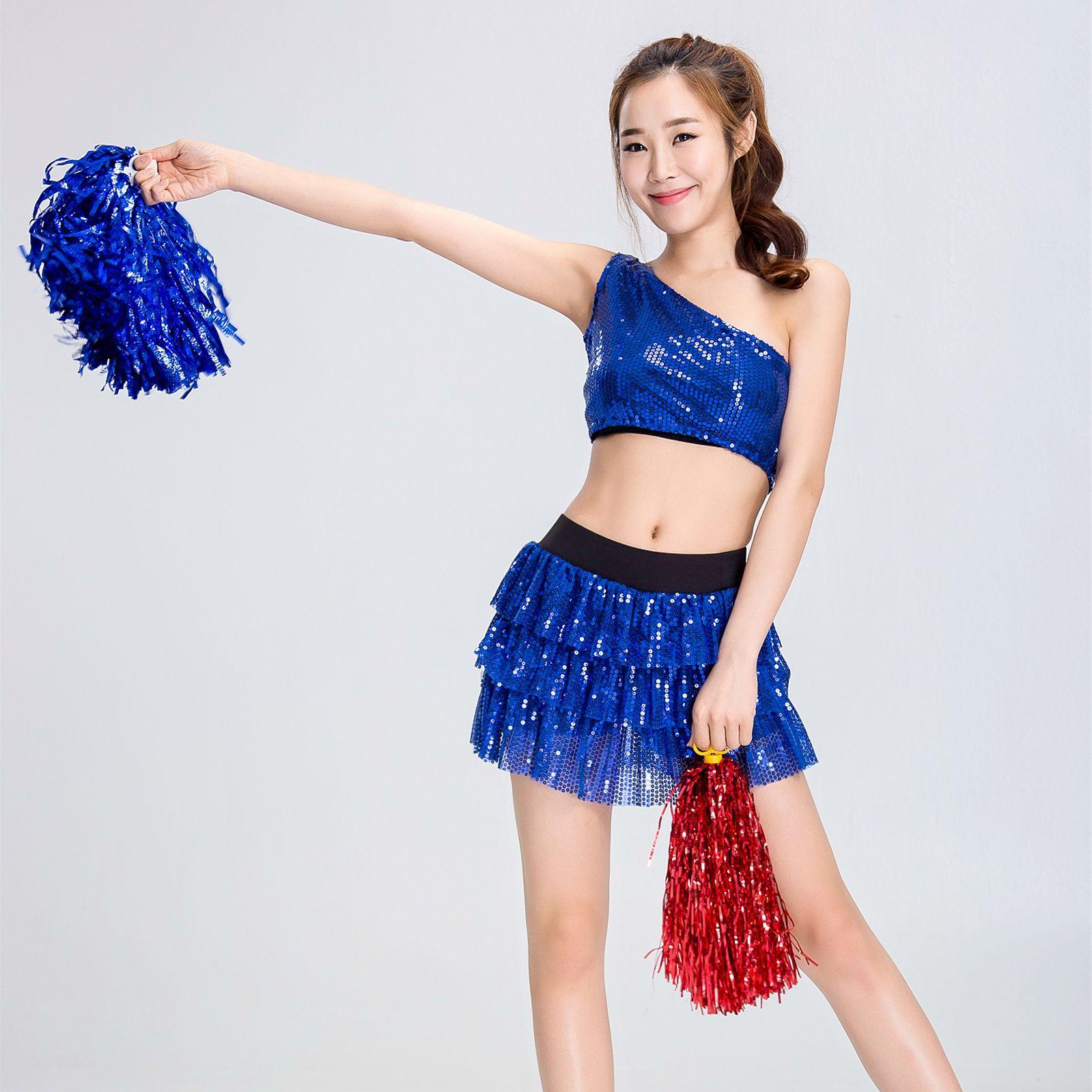 Arobic Cheer Leader Outfits College Cosplay Costume High School Girls Exotic School Cheerleading Uniform Cosplay High School Col
