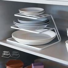 2 слоя блюдо стойка из нержавеющей стали сушилка для посуды чашка и блюдо-Органайзер держатель wx11091759