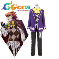 CGCOS Free Shipping Cosplay Costume Cos Black Butler Book of Circus Uniform New in Stock Halloween Christmas Party