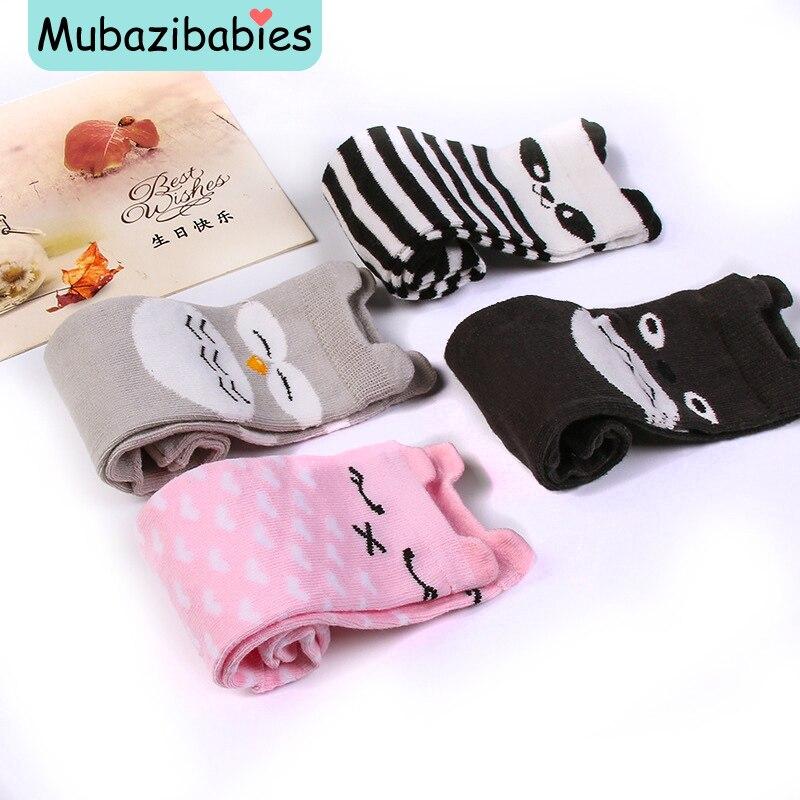 Kids Socks Cotton Knee Cute Cartoon Creative Animal baby Socks Girls Socks 0-4 years Cartoon Non-Slip Baby Floor Socks