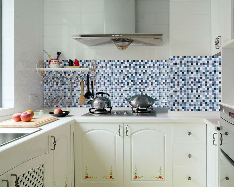 Backsplash Cabinets With White Diseño