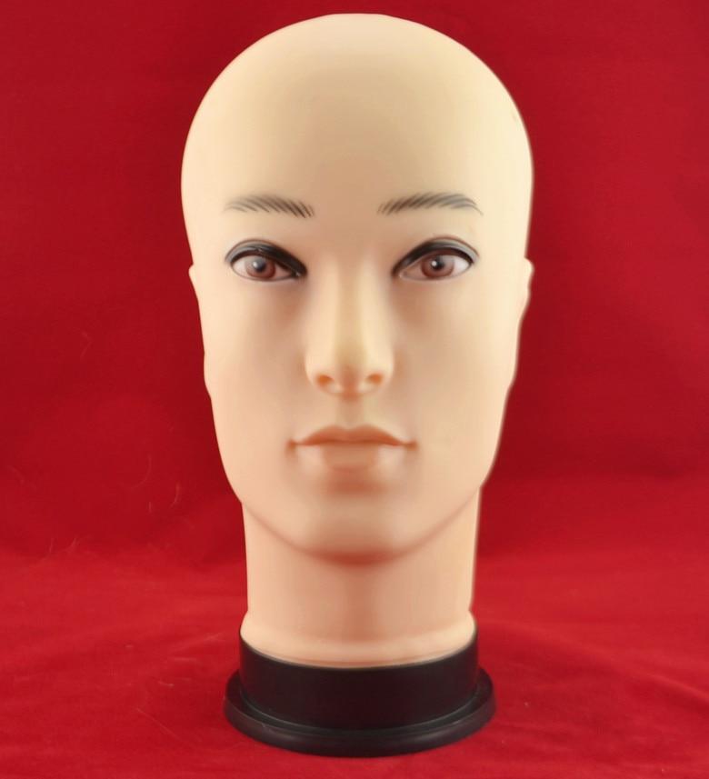 Muž hlavy manekýn šperky model skla zobrazení figuríny člověka plastové hlavy zobrazující hlavu