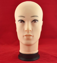 Male head wig mannequin hat model jewelry