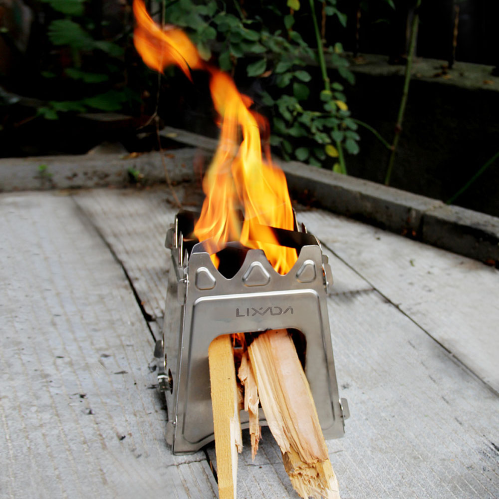 Aliexpress.com : Buy Portable Outdoor Stove Lixada Compact Folding Wood  Stove Outdoor Hiking Camping Stove Cooking Picnic from Reliable stoves dual  fuel ... - Aliexpress.com : Buy Portable Outdoor Stove Lixada Compact Folding