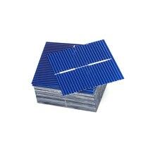 50 unidades/lotes diy carregador de silício policristalino painel solar painel células sunpower bord solar 39*39mm 0.5 v 0.25 w