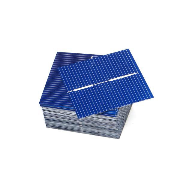 50pcs/lots DIY Charger Polycrystalline Silicon Solar Panel Painel Cells Sunpower Solar Bord 39*39mm 0.5V 0.25W