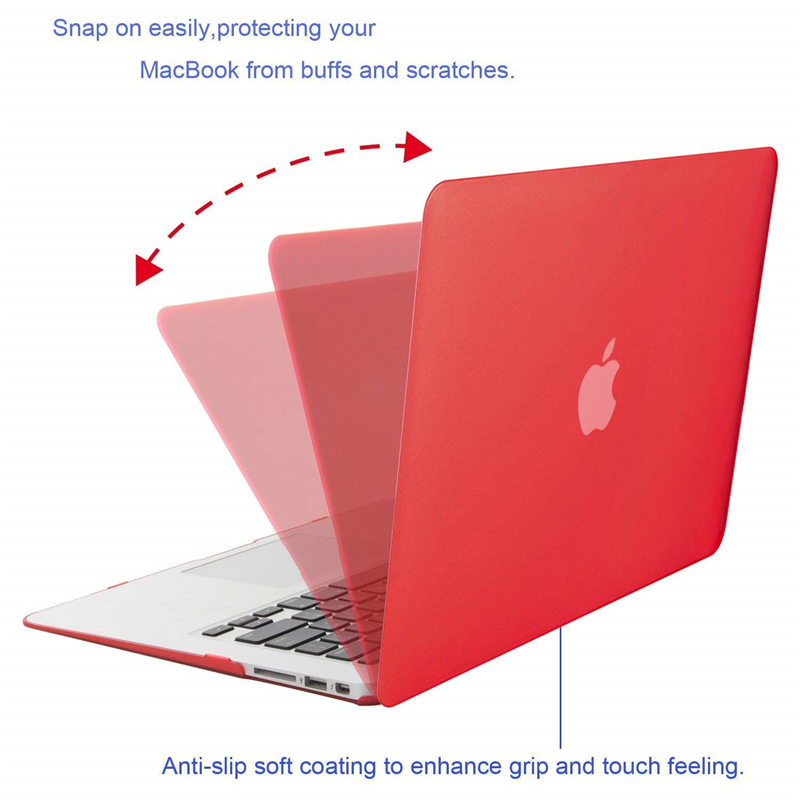 Image 2 - MOSISO Matte Laptop Case For MacBook Pro 13 Retina 13.3 15.4 Notebook Cover for Mac Book New Pro 13 Pro 15 inch with Touch Bar-in Laptop Bags & Cases from Computer & Office