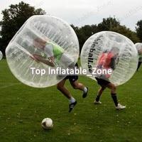 Free shipping air bubble ball 1.0mm TPU 1.5m human bouncing soccer ball for sale