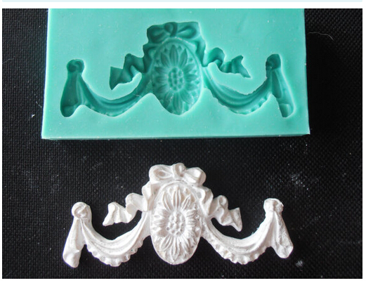 ORNAMENT HANGINGS Silicone Mold Fimo moldChocolate Mold Fondant Cake Decoration Mold Sugar Craft Tools aroma stone moulds
