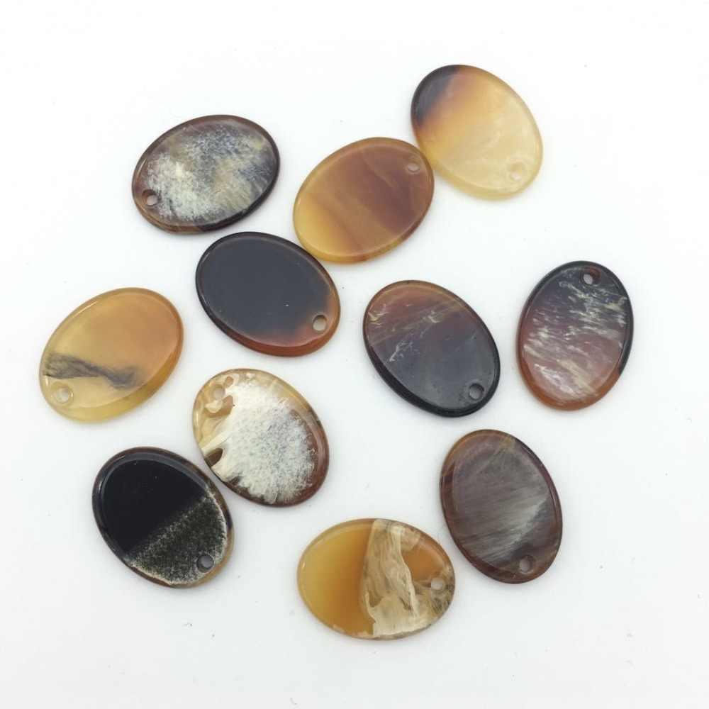 Bricolage fait à la main ovale acrylique fabrication de bijoux accessoires boucles d'oreilles kolczyki pendientes bts bijoux bisutérus para hacer joyas