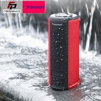Tronsmart T6 Plus Bluetooth Speaker 40W Portable Speaker Deep Bass Soundbar with IPX6 Waterproof, Power Bank Function SoundPul