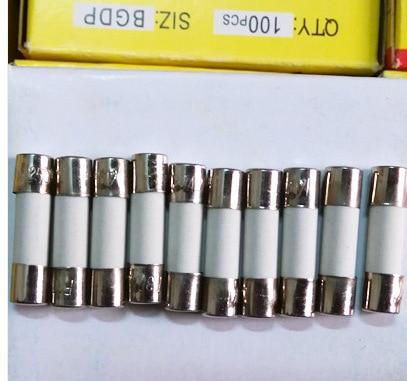 32mm X 6mm-Envase X 20 Vidrio Fusible de 2 Amp