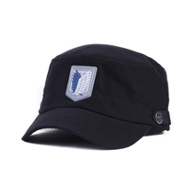 Titan Wing Logo Soldier hat 2016 New Fashion Classic Black Sport Baseball Cap Hip-hop Cap Men Women outdoor snapback KPOP