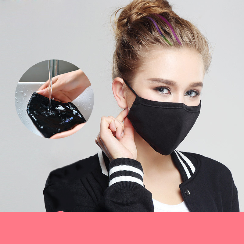 Fashion Respiratory PM2.5 5 Colors Woman Outdoor sports Anti Dust Fog and Haze U