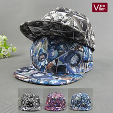 Adults Anime One Piece 6Style Adjustable Size Cartoon Fashion Hip hop Baseball Caps 2017 Cartoon Character Hats & Caps