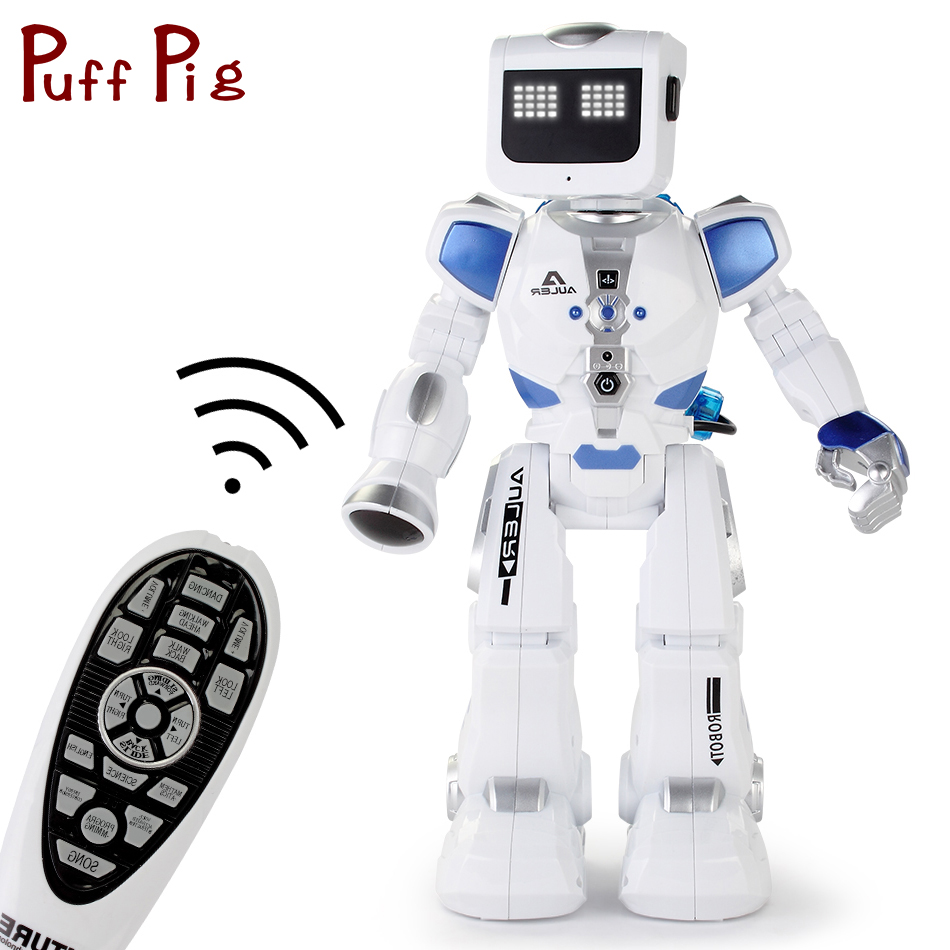 D'eau Au Volant Danse RC Robot Avec Anglais Musique Intelligente Télécommande Figurines Jouets Pour Enfants Enfants Cadeau D'anniversaire