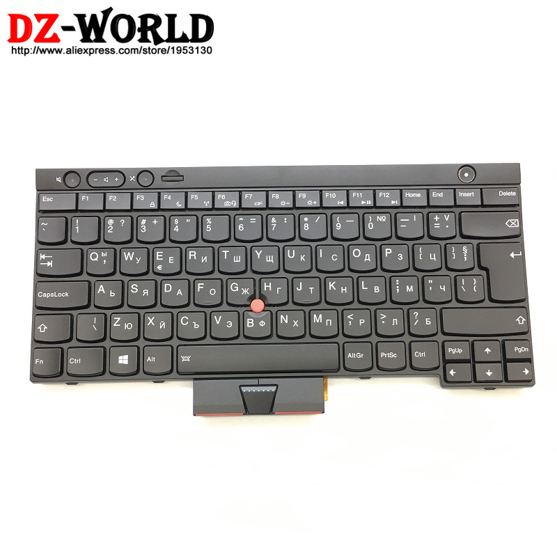 New Original for Thinkpad T430 T430i T430S T530 T530i W530 Backlit Bulgarian Keyboard Backlight 04Y0535 04X1360 04Y0646 0C01930 us new original laptop keyboard for ibm thinkpad x230 t430 t530 w530 us black keyboard with backlit