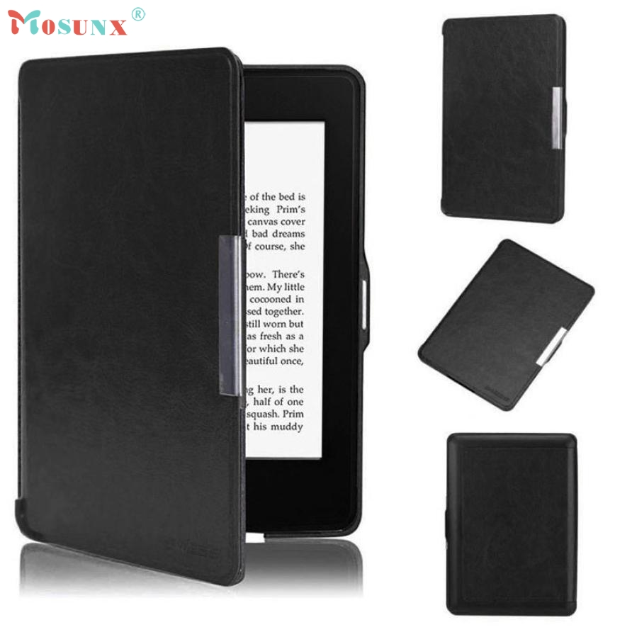 Hot sale Tablet Case Cover Magnetic Premium Ultra Slim Leather Smart Case Cover For New Amazon Kindle Paperwhite 5 Drop Shipping for amazon 2017 new kindle fire hd 8 armor shockproof hybrid heavy duty protective stand cover case for kindle fire hd8 2017