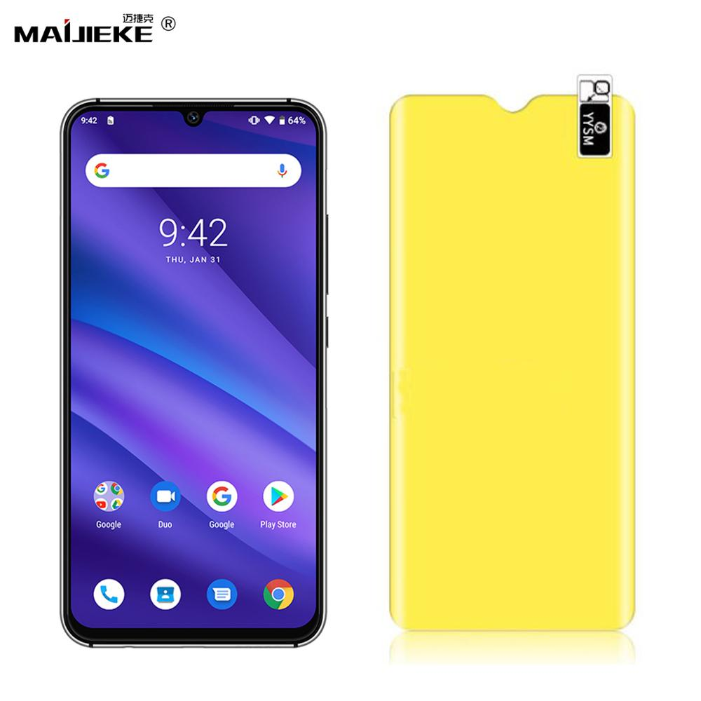 Soft TPU Nano Screen Protector Film for UMIDIGI A5 Pro S3 Pro F1 Play One max F2 Full Cover Self-healing Front Hydrogel Film