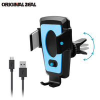2018 Automatic Car Phone Holder Car Smart Electronical Air Vent Smarphone GPS Holder Clip For Huawei
