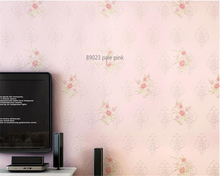 beibehang Simple nonwoven 3d wallpaper modern vertical striped warm bedroom background wall papel de parede