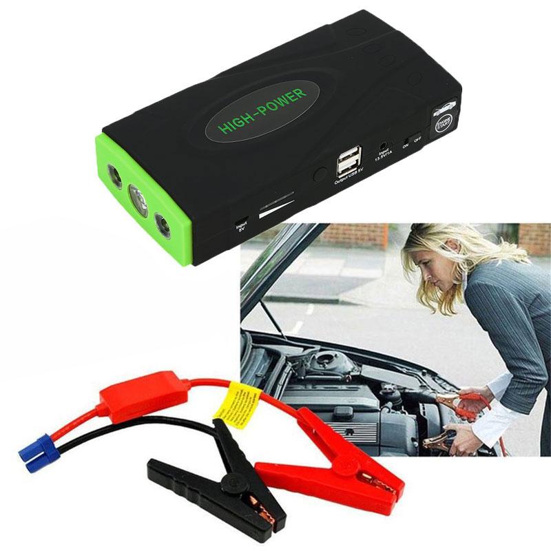 High Power Auto Starthilfe High Power Tragbare Auto Ladegerät Multi-funktion Starten Jumper Notfall Auto Batterie Booster Buster LED