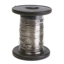 THGS 30 м 304 проволока из нержавеющей стали рулон один яркий Жесткий провод кабель
